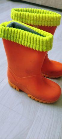 Резинові чоботи з утеплювачем