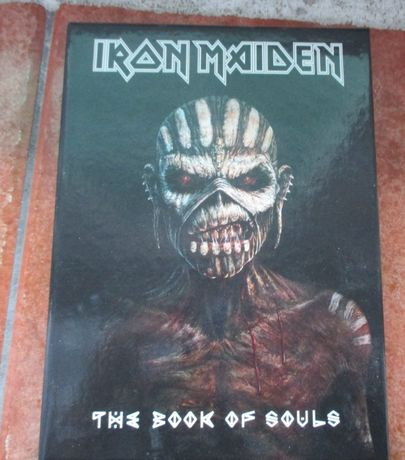 iron maiden the book of souls 2 CD wyd. 2015