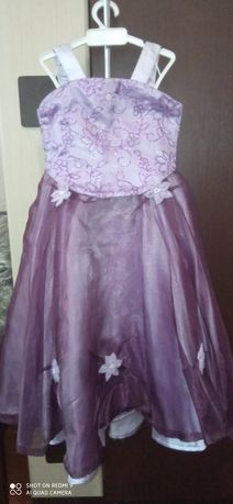 Выпускное платье-костюм