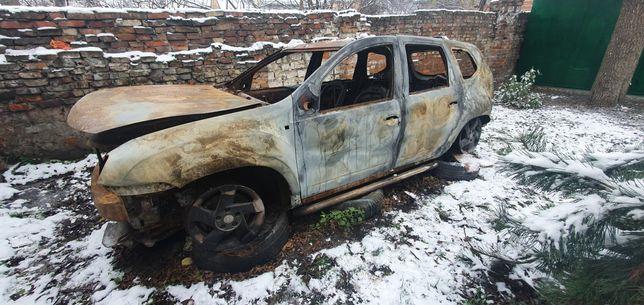 Dacia Daster 2013р. Авто після пожежі.