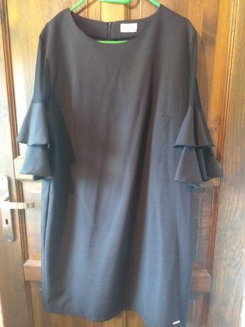 Sukienka czarna 48