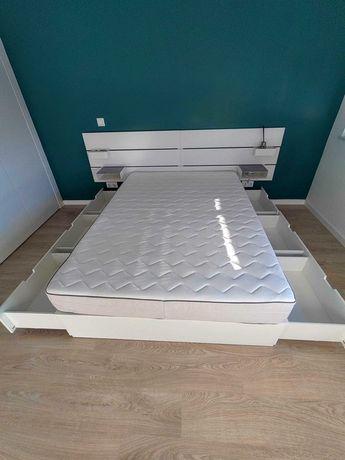 Colchão cama casal IKEA Geresta 140x200cmm (só vendo o colchão)