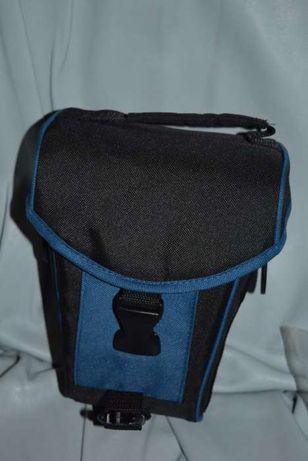 Bolsa Azul e Preta para Fotografia