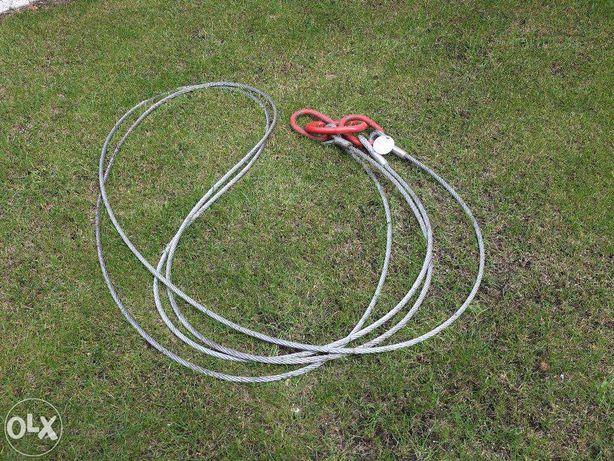 Zawiesie Linowe Stalowe fi 12mm wytrzymałość 4,2Tony długość 2,8m