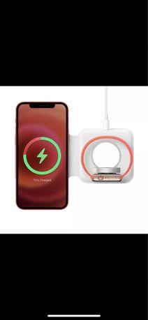 Ładowarka indukcyjna bezprzewodowa do iPhone 11 12 8 x xs iWatch nowa