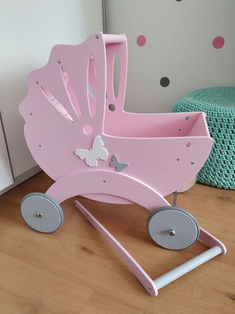 Wózek drewniany Bebe