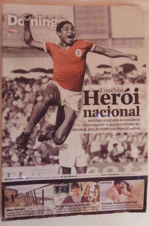 Revista Domingo - Eusébio Herói Nacional