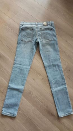 Spodnie jeansowe m-ki Cheap Monday czaszka