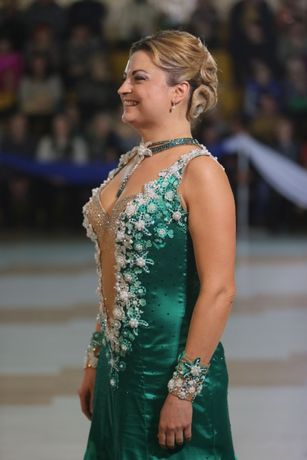 Платье для бальных танцев - европейская программа (стандарт)