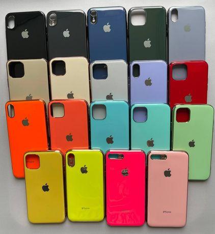 Silicone case силиконовый чехол iphone айфон 7/8+, X/Xs,Xr,11 pro