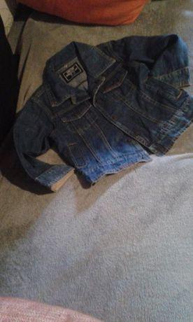 casaco de ganga da zippy 3/4 anos