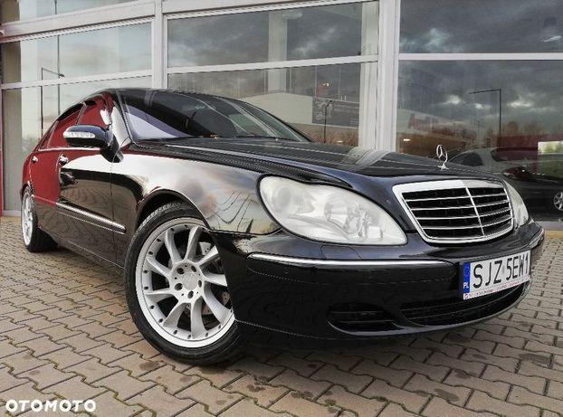 Mercedes-Benz Klasa S S500 L, 92 tys.km, Bezwypadkowy, Japonia, Pierwszy właściciel w kraju