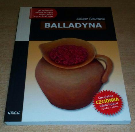 Juliusz Słowacki Balladyna lektura z opracowaniem