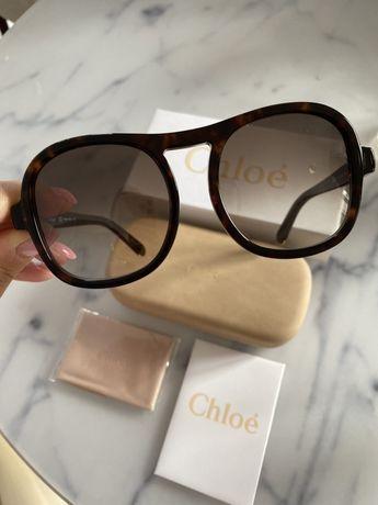 Oryginalne okulary Chloe nowe z certyfikatem autentycznosci