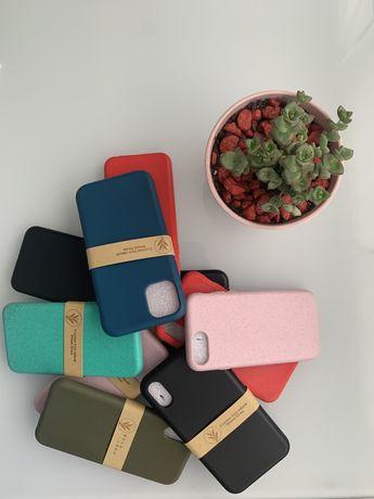 Capas Biodegradaveis Iphone 6 7 8 SE2020 XR X XS 11 12 12pro