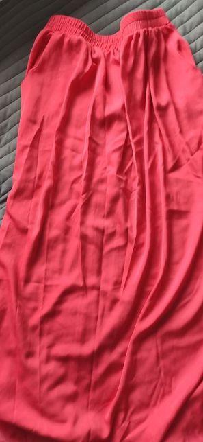 Spódnica Promod, kolor malinowy