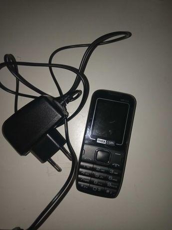 Telefon maxcom plus ładowarka