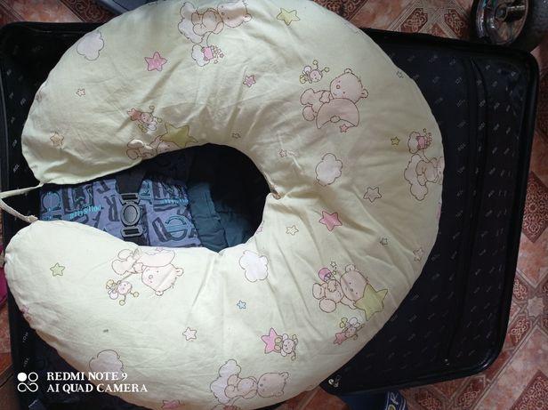 Подушка для беременных,подушка для кормления