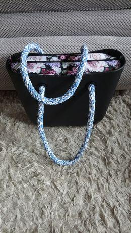 Liny bawelniane do torebki obag . Długość 70-80 cm.