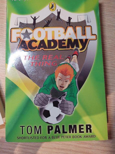 Angielski Football Academy, Tom Palmer PENGUIN ksiazka