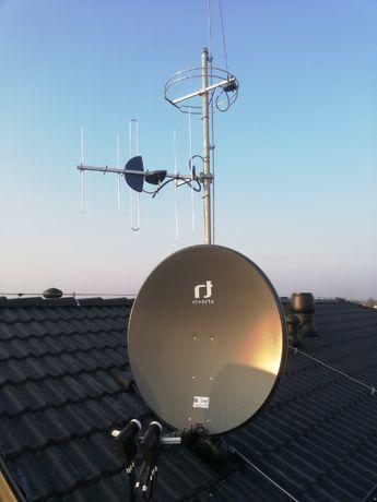 Montaż, Ustawianie Anten Satelitarnych i Naziemnych DVB-T, LTE Wrocław