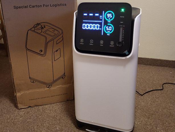 Концентратор кислорода с небулайзером и ДУ 6 литров новый