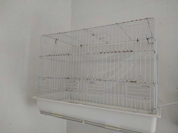Gaiolas, ninhos e acessórios