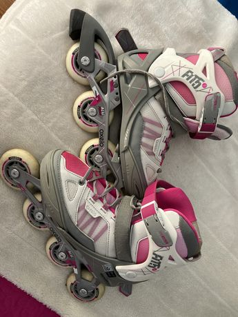 Patins rosa decathlon 38