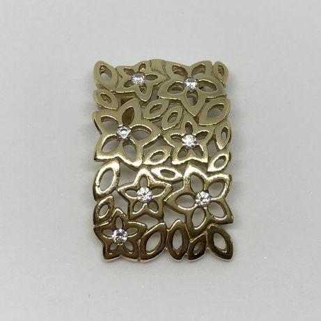 Piękna, złota zawieszka p585 APART