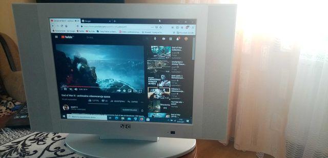 Tv/monitor lcd 20 cali + pilot