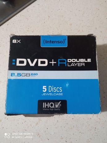 Płyty dvd+r 8.5 gb