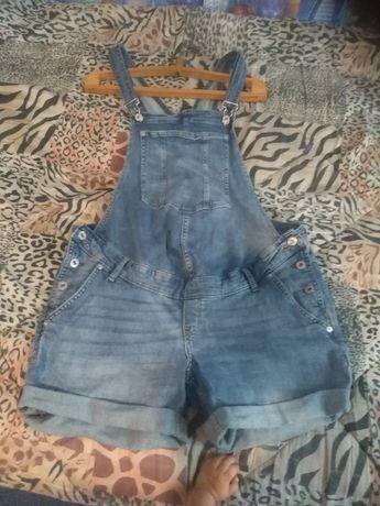 Продам джинсовой комбінезон для вагітних