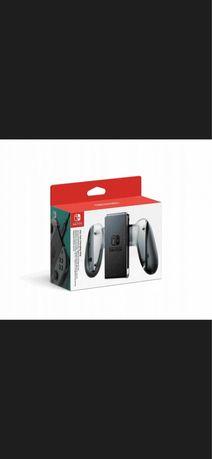 Joy-Con Ładowarka Uchwyt Grip Nintendo Switch