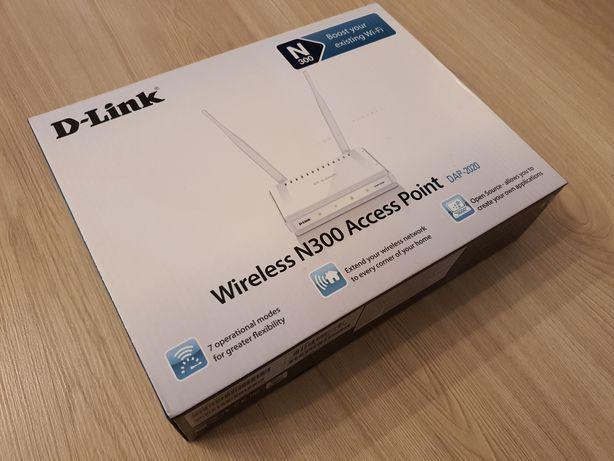 Router kablówka D-Link N300 DAP-2020 Wifi NOWY Access Point