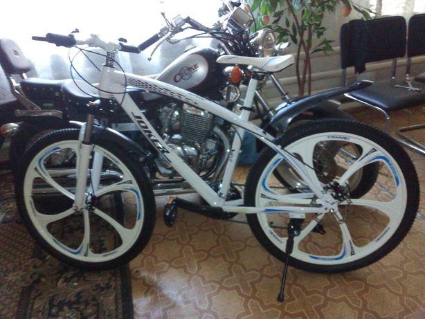 Продам велосипед на литых диска