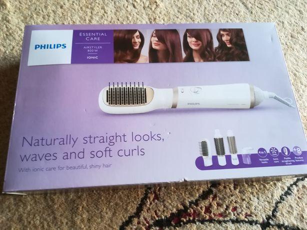 Philips szczotka do prostowania, kręceni i falowania włosów 4w1.NOWA!!