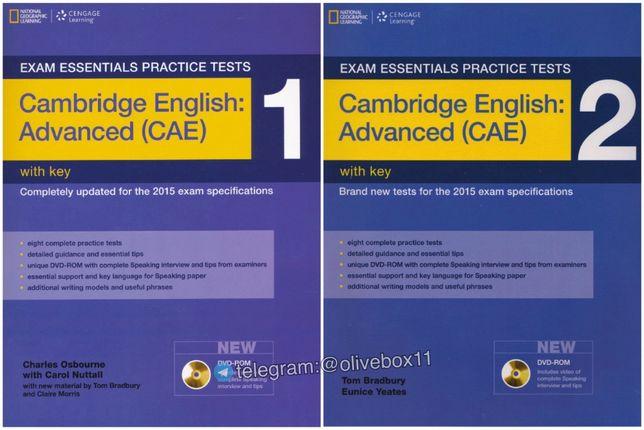 Exam Essentials Cambridge Advanced Practice Tests 1,2