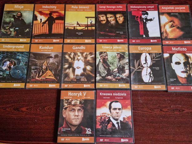 Duża kolekcja filmów DVD 51 szt.
