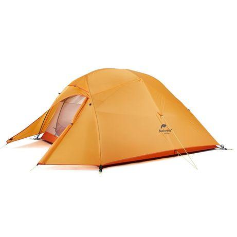Намет Палатка 3-х міст. Naturehike Cloud Up 3-210T (Upgrade) Орандж