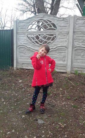 Д/с пальто для юных модниц