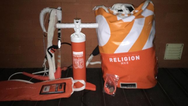 RRD religion 9m completo kitesurf