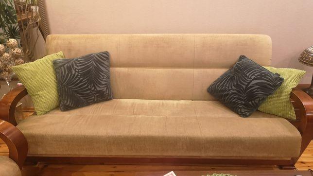 Wersalka 2x Fotele Zestaw Wypoczynek Komplet MEBLOTAP