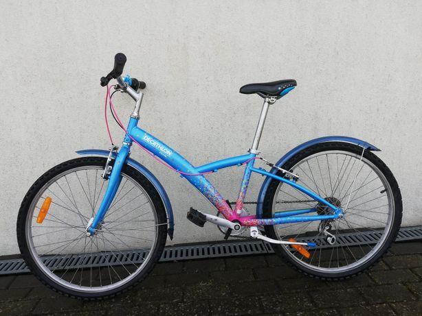 Rower dla dziewczynki Decathlon. Koła 24