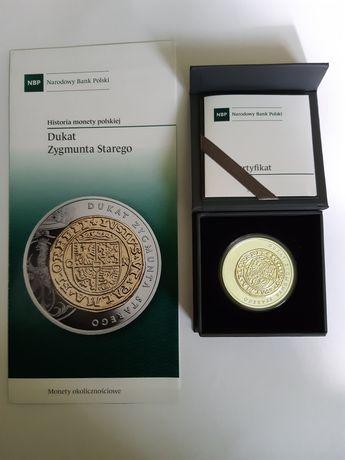 Dukat Zygmunta Starego moneta
