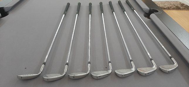 Set Ferros Golfe Taylormade incríveis, 4,5,6,7,8,9 e P, ofereço um SW