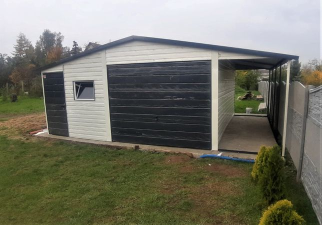 Schowek, domek, garaż blaszak, altana, wiata blaszana PRODUCENT