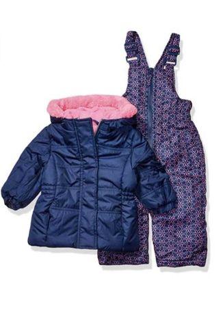 Зимний комплект Pink Platinum 9-12 месяцев