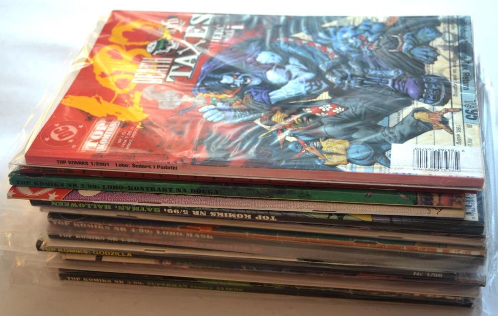 Top Komiks Tm semic Fun Media Lobo Batman... na sztuki wysyłka Kęty - image 1