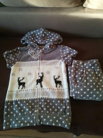 Очень красивая тёплая пижама/піжама/домашний костюм