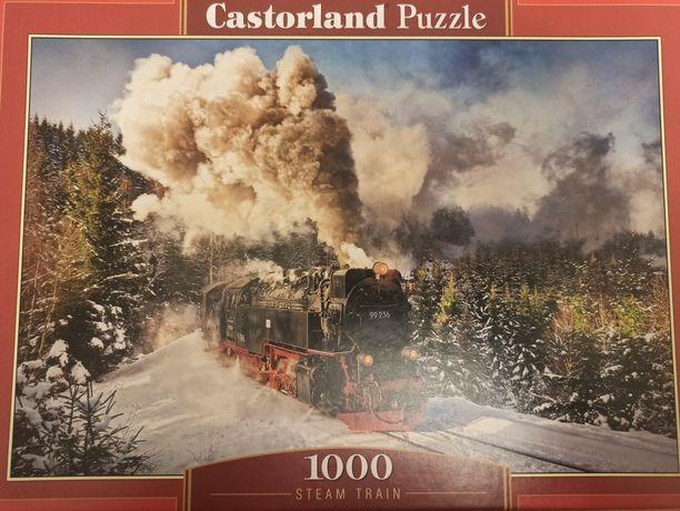 Puzzle 1000 elementów kompletne